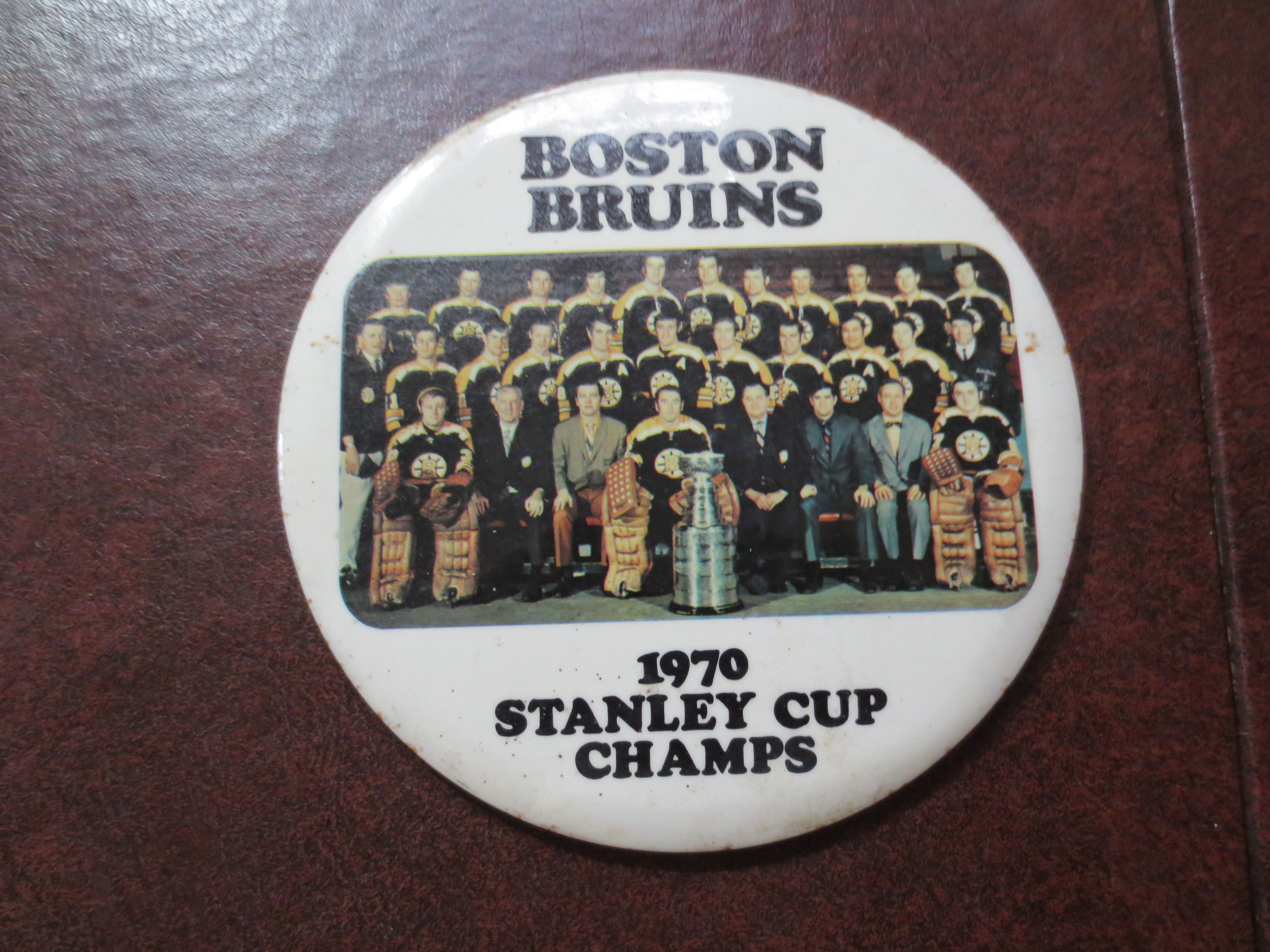 Boston Bruins Stanley Cup 1970 Lot Detail - 1970 Bost...