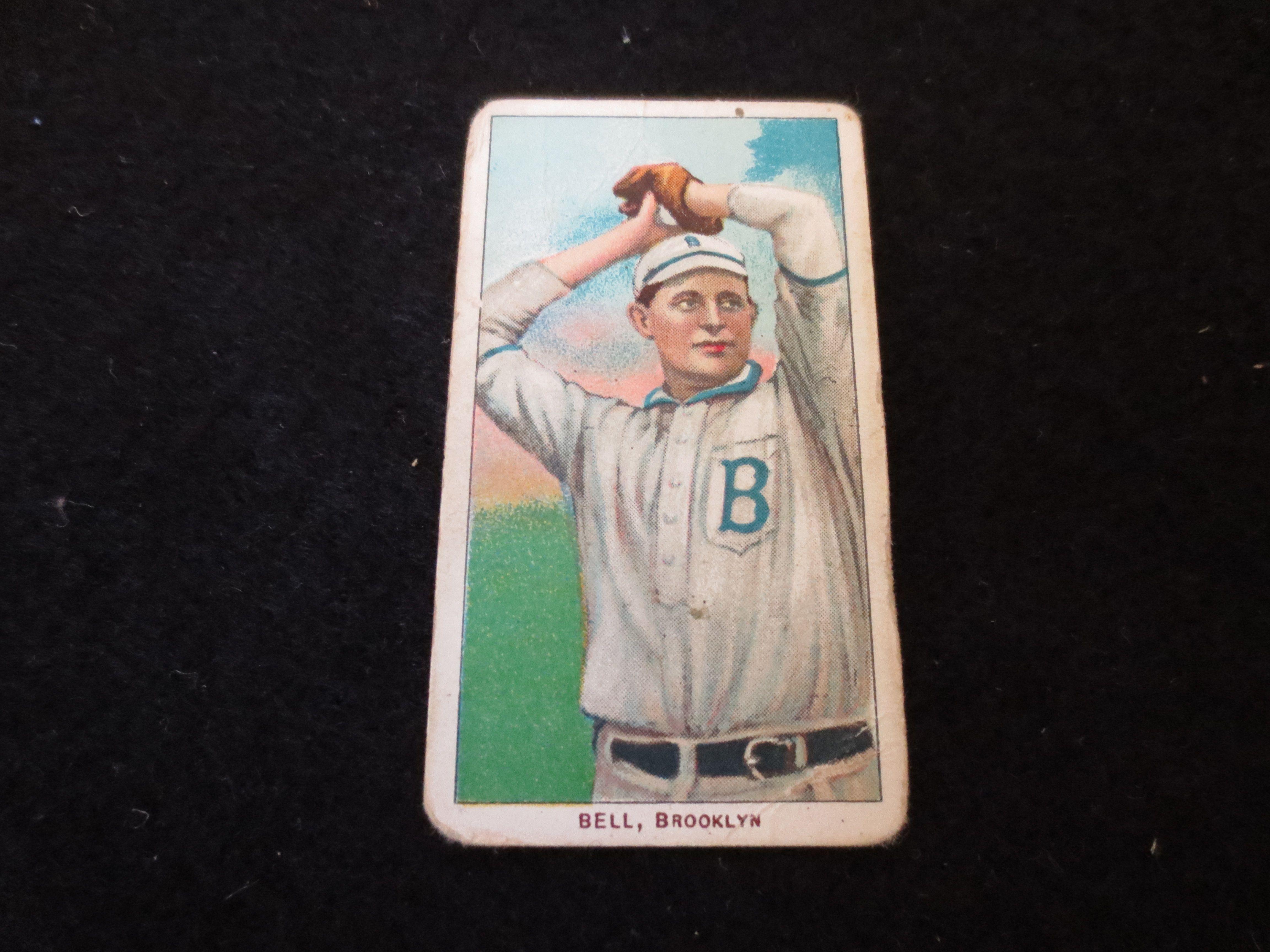 Lot Detail 1909 11 T206 George Bell Brooklyn Baseball Card