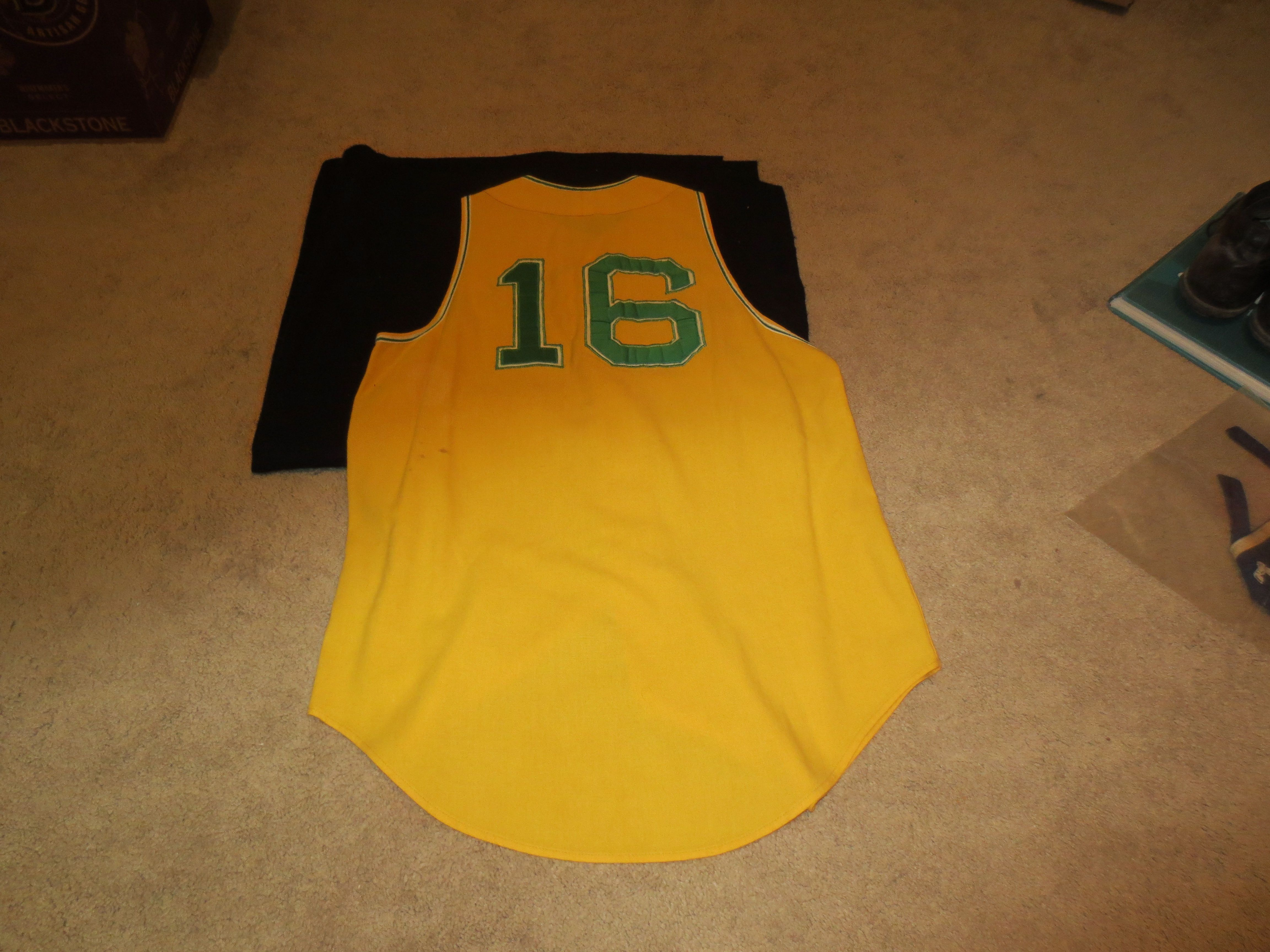 100% authentic 168c6 720b7 Lot Detail - 1968 Oakland A's Game Used Flannel Jersey Joe ...