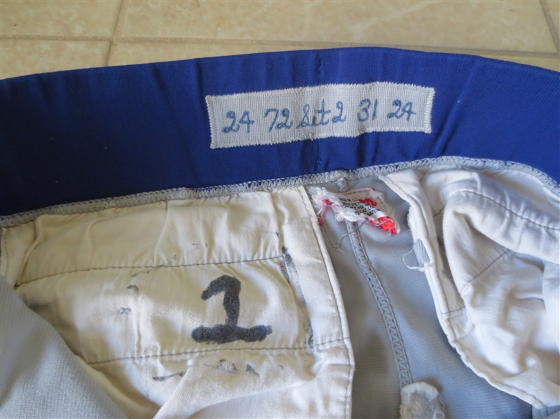 1972 Game Worn Chicago Cubs Road Pants of Pete Lacock, Tommy Davis, and Art Shamsky