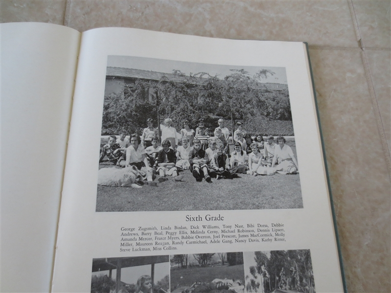 1952 Maureen Reagan Chadwick School yearbook