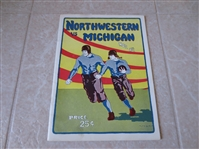 1924 Northwestern at Michigan football program  Michigan wins