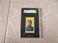1909 T206 Addie Joss HOF Portrait baseball card SGC 10 poor 1