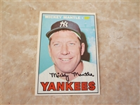 1967 Topps Mickey Mantle #150 baseball card in super condition!