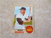 1968 Topps Mickey Mantle baseball card #280  A Beauty!