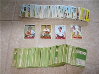 (300) 1967 Topps baseball cards in super condition with stars and rookie cards!