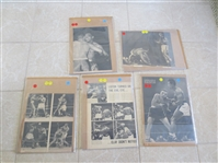 Vintage Boxing Oversized Magazine Clippings Marciano, Clay, Liston, Louis, Marciano, Robinson, plus!