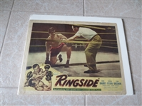 "1949 Advertising Broadside for the boxing movie ""Ringside"" 11"" x 14"""