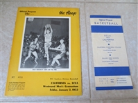 1949, 53 UCLA basketball programs with John Wooden very early in his coaching career