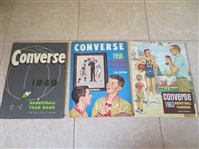 1949, 58, 63 Converse Basketball Yearbooks Very nice shape!
