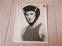 "1926 American Basketball League Type I Wire Photo Berry Buffalo Bisons RARE 8"" x 10"""