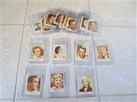 (21) 1954 Klene Val Gum American Film Stars cards from Holland