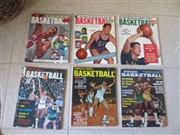 (28) Assorted Basketball Magazines and books 1955-77  HOF covers