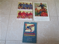 (6) 1922-30 mostly Stanford vs. CAL football programs  WOW!