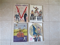 (11) 1940s-50s College Football Programs mostly Army vs. Navy