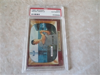 1955 Bowman Mickey Mantle baseball card #202 PSA graded authentic