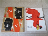 1934 and 1943 Army football programs vs. Navy and Pennsylvania