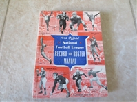 1942 Official National Football League Record and Roster Manual  RARE