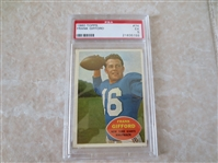 1960 Topps Frank Gifford football card #74 Hall of Fame  PSA 5 ex