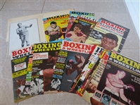 (24) 1965-66 Boxing Magazine Covers Ali, Liston, Patterson +