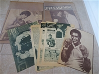 (10) Old Hispanic Boxing cut-outs