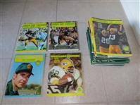 (33) different 1969-2002 Green Bay Packers yearbooks some autographed on cover!
