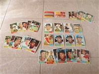 (40) 1961 Topps Baseball Cards in super condition