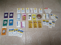 (40) 1980s-90s College Football ticket stubs including Mirage Bowl in Tokyo Japan