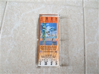 2001 Super Bowl XXXV  35 Full ticket Baltimore Ravens beat New York Giants