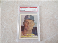 1957 Topps Don Drysdale PSA 4 vg-ex rookie baseball card #18