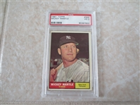1961 Topps Mickey Mantle PSA 3 vg baseball card #300  affordable
